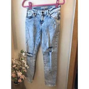 Mavi Distressed Ada Boyfriend Jeans
